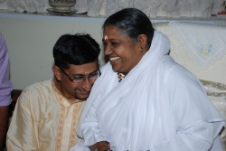 Dr Unny with Amma